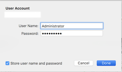 MacOS Misrosoft Remote Desktop login